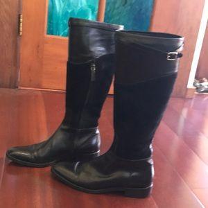 Ralph Lauren suede leather boots